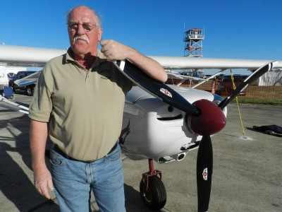 Eric Giles moved his aircraft plant from Alberta to Tennessee.