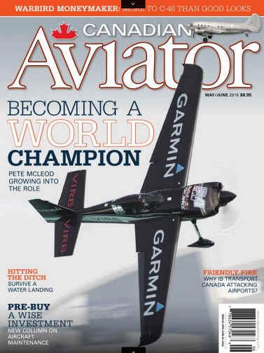 Riley Fitzsimmons - Canadian Aviator Magazine