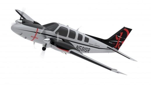 Discovery Air Technical Services did the modifications on Beechcraft's demonstrator ISR Baron.