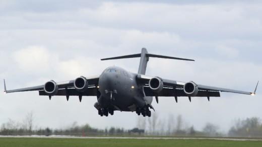 C17 Cargo Drop, FA2012-1007
