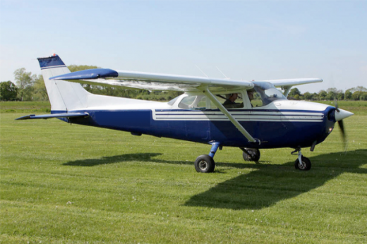 Cessna 172M of the type forfeited by Canadian pilot.