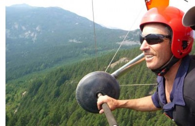 Hang gliding instructor Jon Orders may be jailed in passenger's death.