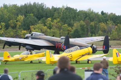 The CWH Lanc was a popular attraction at Wings Over Gatineau last September.Jim Cole Photo