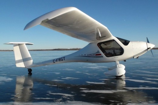 A Pipistrel Virus like this was involved in the Edmonton incident.