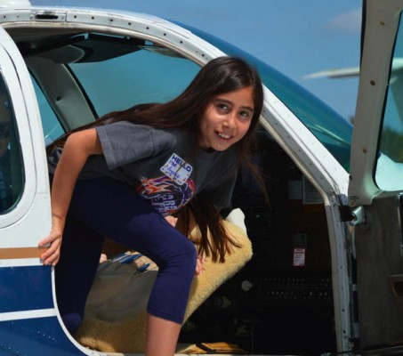 Flying events are being held all over the world for Women of Aviation Worldwide Week.
