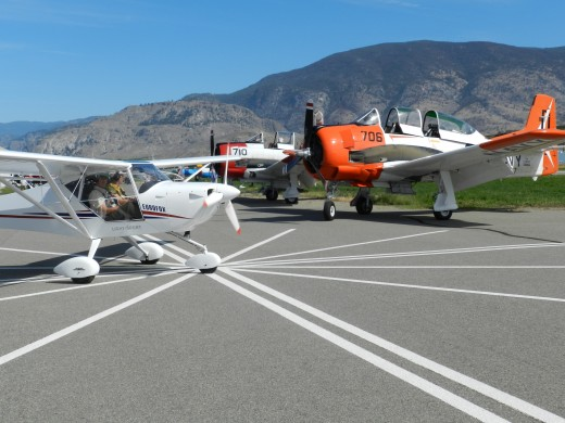 Canadian aviation is as diverse as it is interesting as the ramp at the round engine meet in Oliver, B.C. expresses perfectly.