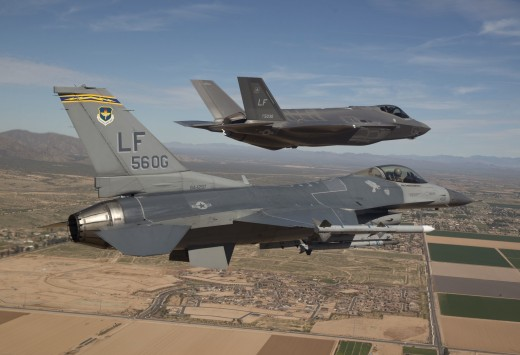 An F-35 that was on display for Canadian media at the Lockheed Martin plant in Texas last week was delivered to Luke Air Force Base in Arizona this week.