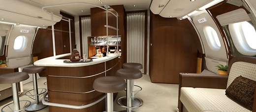 GAL Aerospace makes an airplane a comfortable place for its clients.