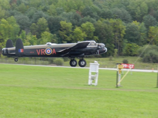 The CWH Lancaster was a main attraction at the Gatineau Air Show in 2013.