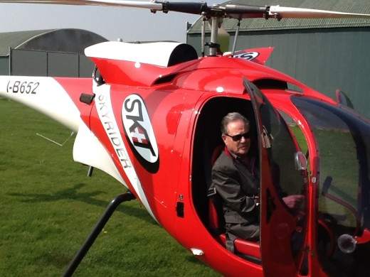 Bill Davidson is the new North American and Indian distributor for SkyRider helicopters.