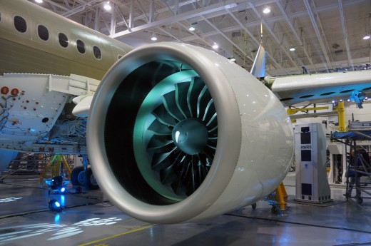 The cause of a CSeries engine failure has been determined and it's not the gear mechanism.