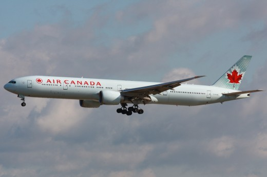 Air Canada topped the ratings for North American Airlines.