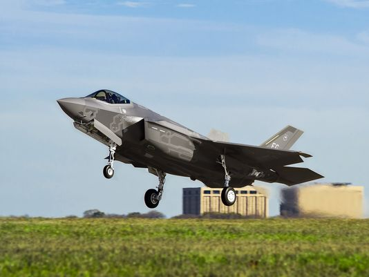 F-35s are grounded in the U.S. after an engine fire.