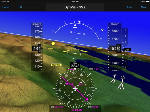 Garmin Pilot is expected to be available in Canada this month.