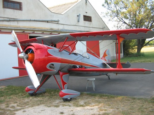 Steen Skybolt of the type that crashed in Brantford Wednesday.