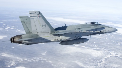 Canada's CF-18s will fly until 2025.