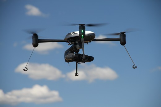 A Draganflyer unmanned aerial system has been given a space in the Smithsonian.