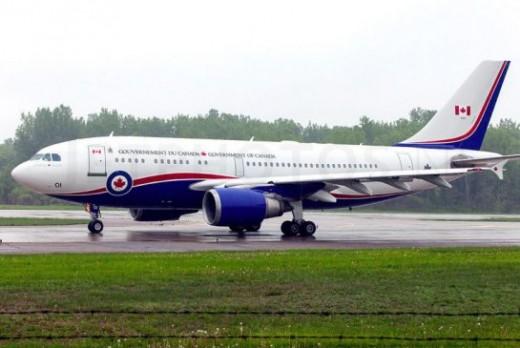Canada flew two European politicians home in the PM's Polaris.