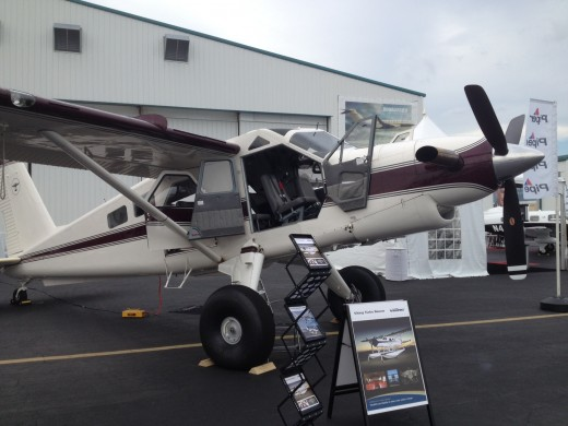 The ultimate personal airplane? Tricked out Beaver on display at NBAA.