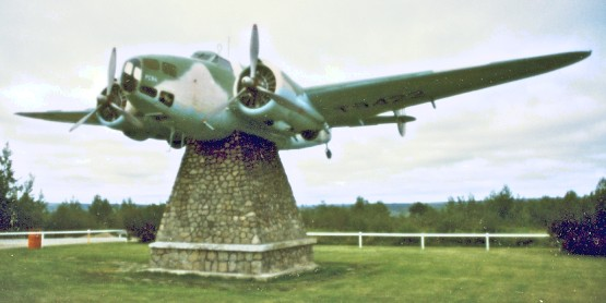 A proper display is planned for this Hudson in Gander.
