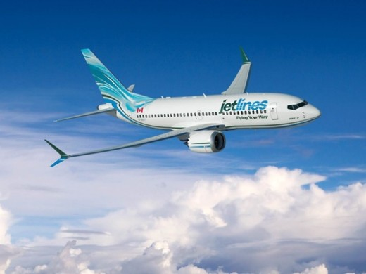 Canada Jetlines has ordered 737 MAX aircraft.