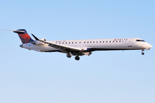 Bombardier has sold 24 CRJ 900s, like this one flown by Delta Connection, to an unnamed buyer.
