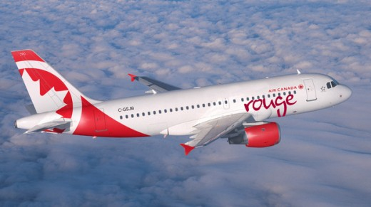 Rouge starts flying domestically in 2015.