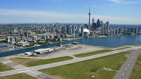 Porter Airlines has sold the terminal building at Billy Bishop Airport.