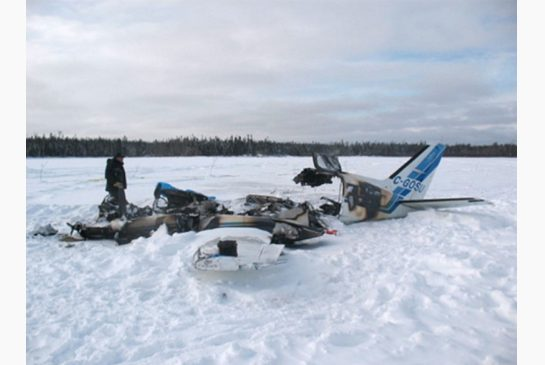 This crash at North Spirit Lake, ON in 2012 killed three.