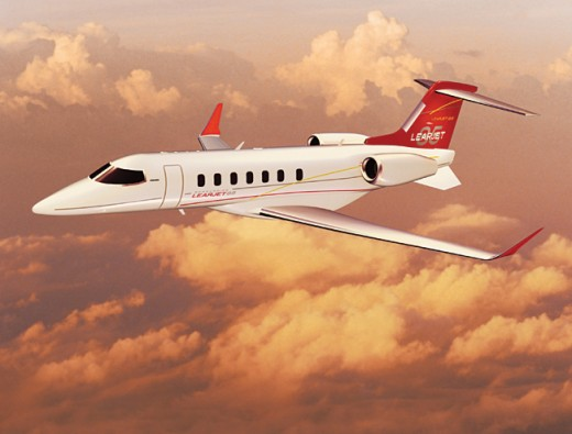 Reports say Learjet may be for sale.