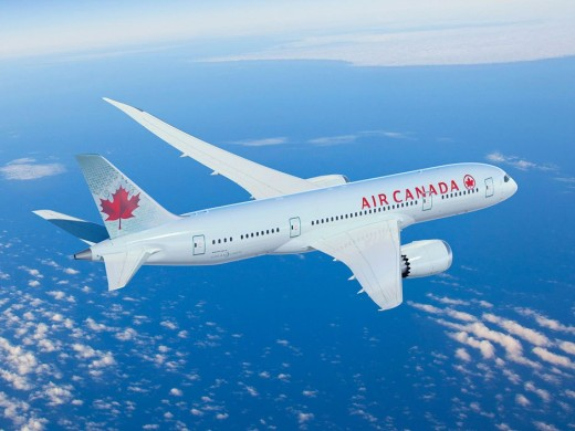 An Air Canada 787 made an emergency landing in Alaska.