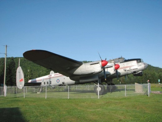 A Lancaster on outdoor static in New Brunswick is moving to Edmonton.