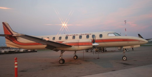 The loss of an engine on final approach caused the crash of a Bearskin Metroliner.
