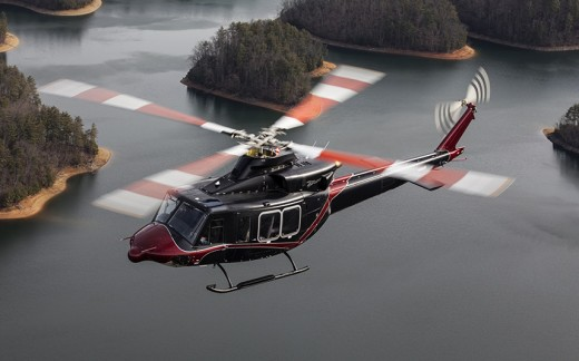 The Coast Guard is buying seven Bell 412EPI helicopters.