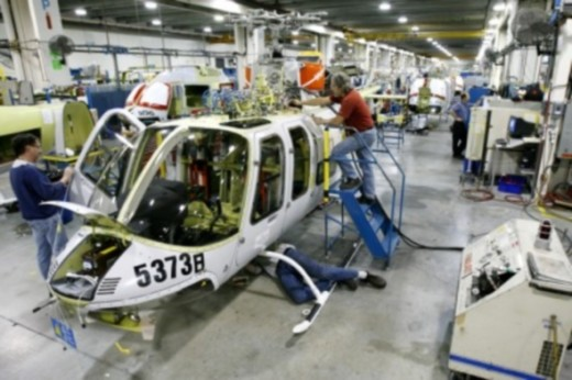 Bell Helicopters is laying off 300 people at its Mirabel plant.