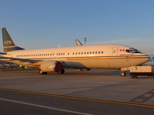 New Leaf Travel will launch with two Flair Air Boeing 737-400s.