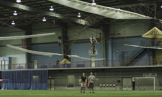 AeroVelo will be honoured for its human-powered helicopter flight Thursday.