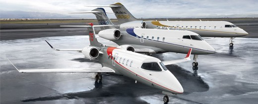 Bombardier is displaying its latest jets at EBACE in Switzerland.