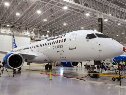 CSeries will debut at the Paris Air Show.