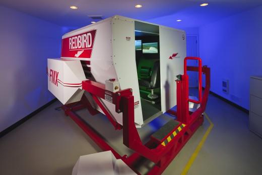 Victoria Flying Club has added seaplane training to its Redbird FMX simulator.