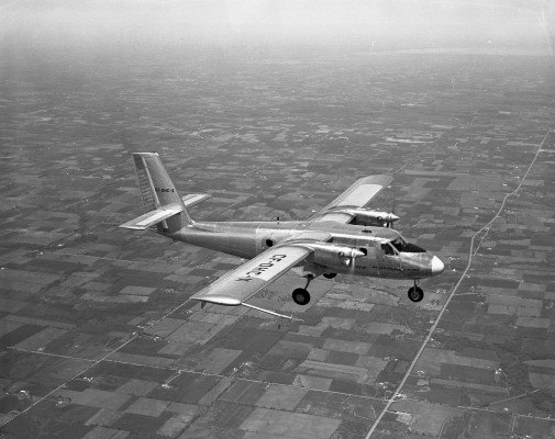 The first Twin Otter flew in 1965.