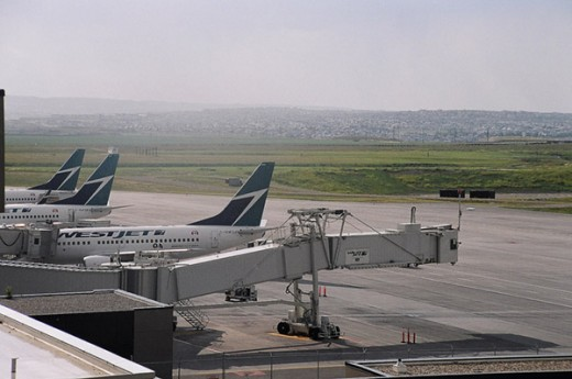 The latest diversion for WestJet was to its home airport at Calgary.