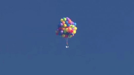 Daniel Boria faces charges after his Calgary balloon stunt.