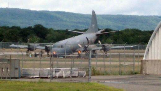 A runway excursion at CFB Greenwood heavily damaged an RCAF Aurora.