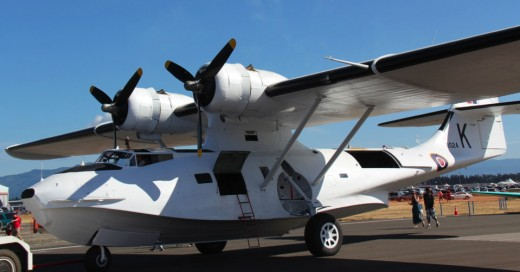 The Catalina Preservation Society's aircraft at the Abbotsford Air Show.
