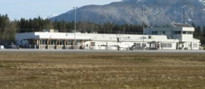 A lack of male screeners kept a man off a flight at Terrace Airport.