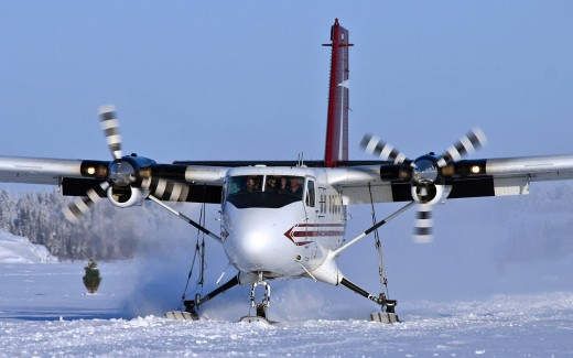 Russian authorities have cancelled a deal to build new Twin Otters there.