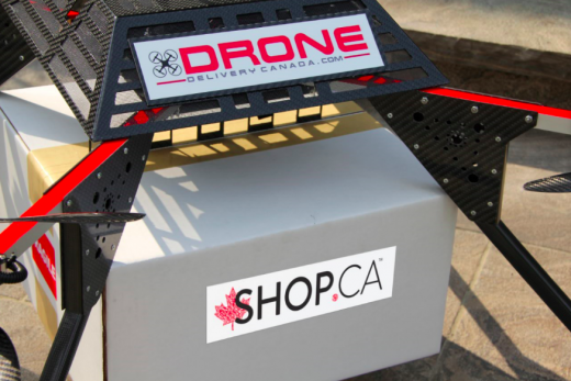 Shop.ca says it will offer drone delivery throughout Canada.