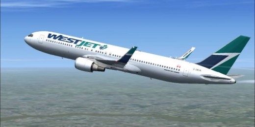 WestJet got its first 767 last week.