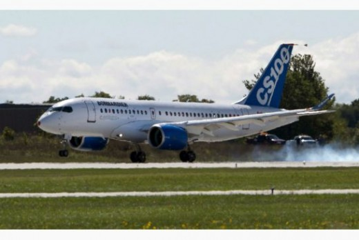 The CSeries is going on tour through North America.